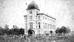Lake City, Florida - Florida Agricultural College in the late 1880s.