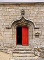 Chapelle Saint-Marc, Kervalet, Batz-sur-Mer, France - Side Door.jpg
