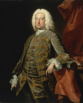 Messiah (Handel) - A portrait of Charles Jennens by Thomas Hudson from around 1740; now in the Handel House Museum.
