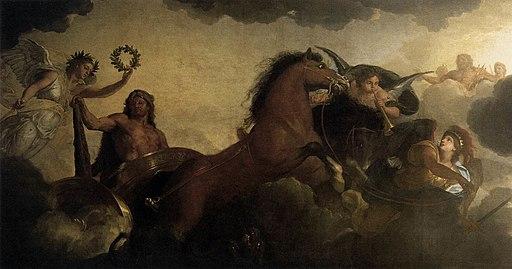 Charles Le Brun - Hercules (detail) - WGA12537