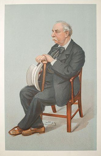 Charles Santley - Santley caricatured by Spy for Vanity Fair, 1902