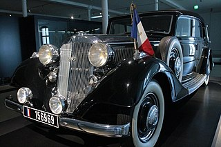 car brand manufactured in Germany by August Horch & Cie