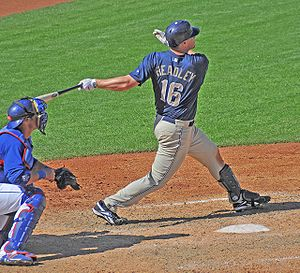 Chase Headley Right handed swing