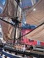 Chatham Historic Dockyard Victory model 5678.JPG