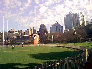 Chatswood Oval - Image: Chatswood Oval Sunday morning