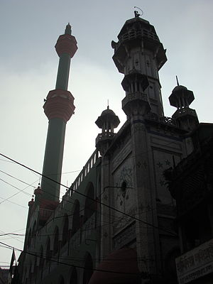 Chawk Mosque - Chawkbazar Shahi Mosque in December 2012