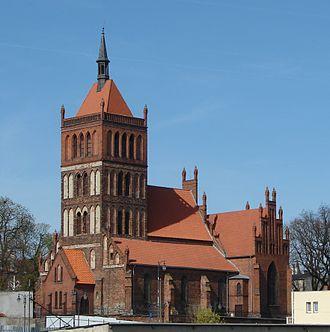 Chełmża - Saint Nicholas Church, built 13th–14th century.