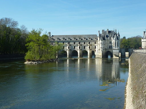 Chenonceau, reflets