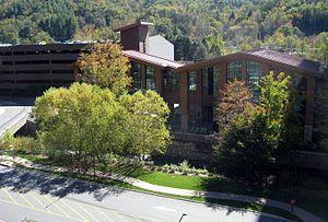 Harrah's Cherokee - Image: Cherokee Harrah's Casino Cherokee View From Parking Tower