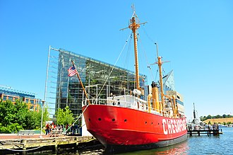 United States lightship Chesapeake (LV-116) - Image: Chesapeake(LV 116)