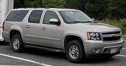 GMT900 Chevrolet Suburban LT