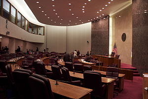 Chicago City Council - Image: Chicago City Council Chambers