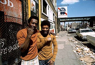 John H. White (photojournalist) - A photo taken by White, documenting African American life on Chicago's South Side in May 1974
