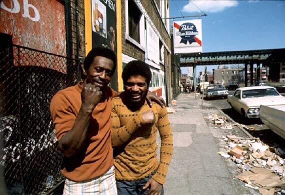 Chicago ghetto