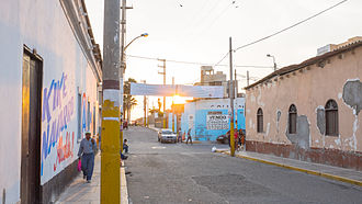 Pimentel District - Image: Chiclayo Street in Pimentel District, Chiclayo, Peru