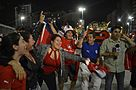 Chilean fans celebrate win over Spain 07.jpg