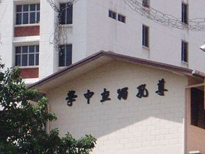 Chinese independent high school - Image: Chinese Independent High School 003