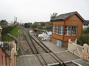 Chinnor and Princes Risborough Railway - The run round loop and sidings
