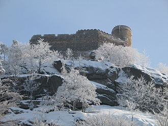 Jelenia Góra Valley - Kynast (Polish: Chojnik), built ca. 1292, Schaffgotsch family seat after 1360