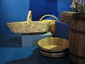 Cholo pescador - Image: Cholo pescador basketry
