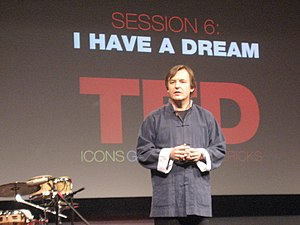 TED (conference) - Curator Chris Anderson in 2007