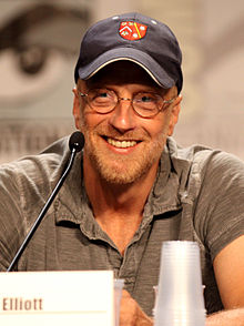 Chris Elliott - the friendly, fun,  actor, comedian, writer,   with German, Scottish, English,  roots in 2019
