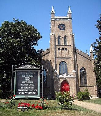 National Register of Historic Places listings in Washington, D.C. - Christ Church, Washington Parish, in Southeast quadrant