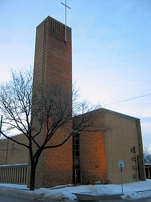 Christ Church Lutheran (Minneapolis), designed...