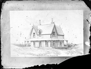 George Allen (architect) - Christ Church Parsonage, Wanganui