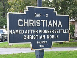 Official logo of Borough of Christiana