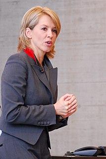 Swiss television presenter and journalist