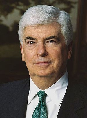 Democratic Party presidential candidates, 2008 - Image: Christopher Dodd official portrait 2 cropped