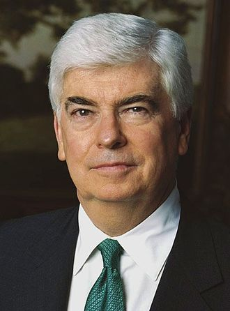 2008 Democratic Party presidential candidates - Image: Christopher Dodd official portrait 2 cropped