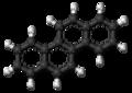 Chrysene molecule ball.png