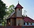 Church of St. Andrew Bobola (former evangelical church), Gawłów village, Bochnia county, Lesser Poland Voivodeship, Poland.jpeg