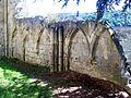 Cinqueux (60), église Saint-Martin, détail, rue Yvonne Drouin 04.jpg
