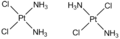 Cisplatin & its isomer.png
