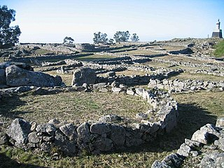 Citânia de Sanfins Archaeological site in Paços de Ferreira, Portugal