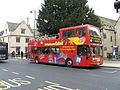 City Sightseeing bus in Oxford, England 05 - St Aldgate's Street.jpg