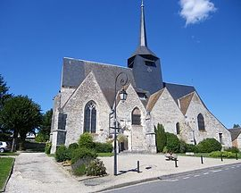 The church in Clémont