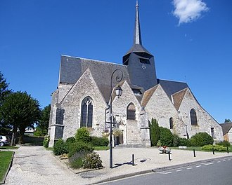 Clémont - The church in Clémont