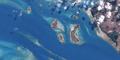 Clarke Island and Barney Island (Landsat).png