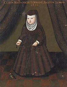 Claude Françoise of Lorraine as a child - Alte Pinakothek.jpg