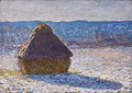 Claude Monet, Haystack, Morning Snow Effect (Meule, Effet de Neige, le Matin), 1891, oil on canvas, 65 x 92 cm, Museum of Fine Arts, Boston.jpg