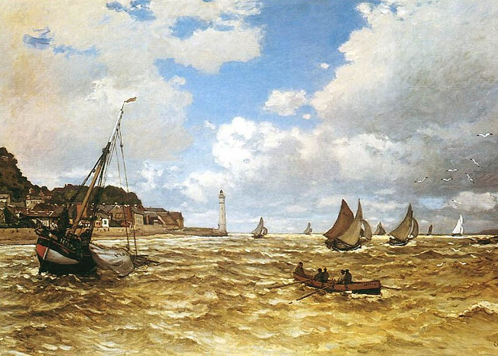 Claude Monet - Mouth of the Seine