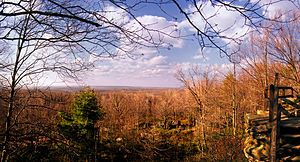 Clear Creek State Forest - Image: Clear Creek State Forest Lookout