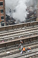 Clearing Metro-North Tracks After Building Collapse (13110978623).jpg