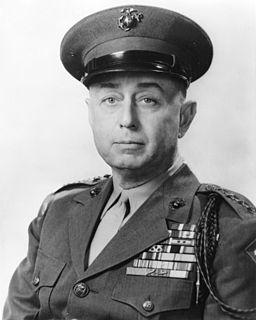 Clifton B. Cates United States Marine Corps