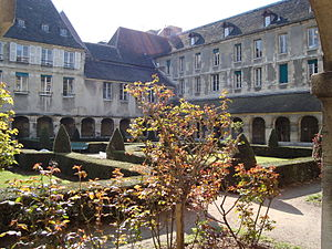 Port-Royal Abbey, Paris - The 17th-century Cloître de Port-Royal, a remnant of the former abbey, now part of the Hôpital Cochin