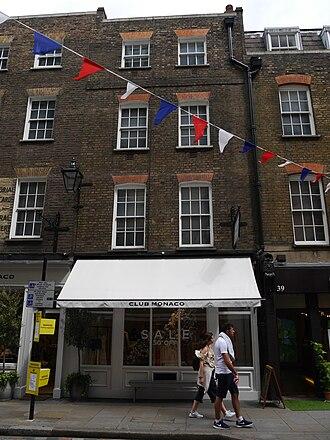 Club Monaco - Club Monaco, Monmouth Street, Covent Garden, London